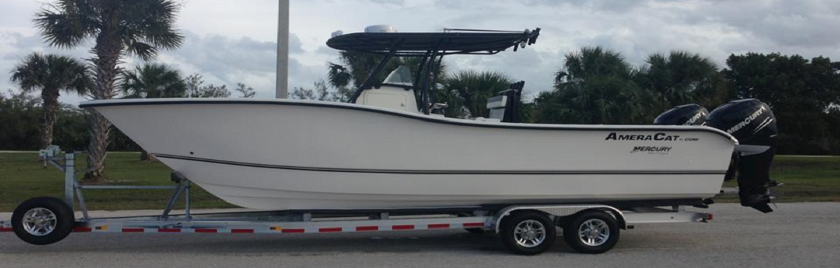 Recreational AmeraCat Boats- Center Console Fishing Catamarans